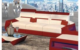 3 Sitzer Sofa AVATAR mit LED Beleuchtung & USB Anschluss
