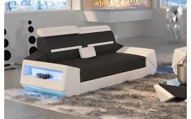 2 Sitzer Sofa AVATAR mit LED Beleuchtung & USB Anschluss