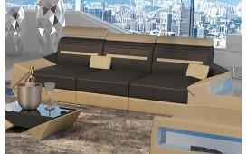 Divano di design a 3 posti AVATAR con illuminazione a LED e presa USB
