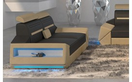 2 Sitzer Sofa AVATAR mit LED Beleuchtung & USB Anschluss NATIVO™ Möbel Schweiz
