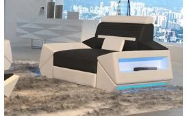 Poltrona di design AVATAR con illuminazione a LED e presa USB