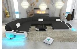 Canapé Design DIABLO XXL avec éclairage LED & port USB