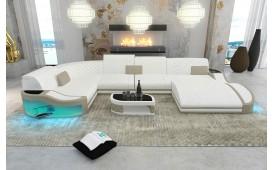 Designer Sofa DIABLO XL mit LED Beleuchtung & USB Anschluss
