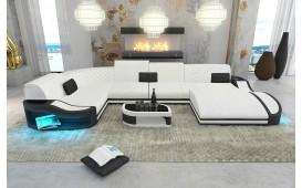 Divano di design DIABLO XL con illuminazione a LED e presa USB