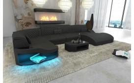 Designer Sofa DIABLO XL mit LED Beleuchtung & USB Anschluss NATIVO™ Möbel Schweiz
