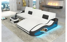 Divano di design DIABLO MINI con illuminazione a LED e presa USB