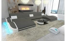Designer Sofa DIABLO XXL DUO mit LED Beleuchtung & USB Anschluss NATIVO™ Möbel Schweiz