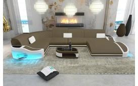 Canapé Design DIABLO XL avec éclairage LED & port USB