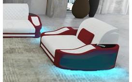 Fauteuil Design DIABLO avec éclairage LED & port USB