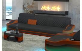 3 Sitzer Sofa DIABLO mit LED Beleuchtung & USB Anschluss NATIVO™ Möbel Schweiz
