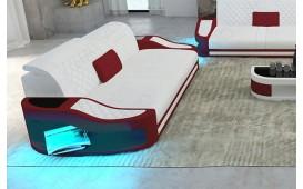 2 Sitzer Sofa DIABLO mit LED Beleuchtung & USB Anschluss
