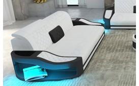 Divano di design a 2 posti DIABLO con illuminazione a LED e presa USB