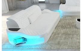 2 Sitzer Sofa DIABLO mit LED Beleuchtung & USB Anschluss NATIVO™ Möbel Schweiz