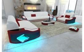 Designer Sofa DIABLO 3+2+1 mit LED Beleuchtung & USB Anschluss NATIVO™ Möbel Schweiz
