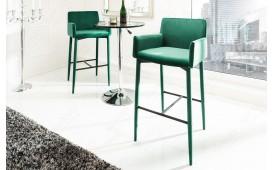 2 x Designer Barhocker TORINO GREEN