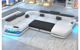 Canapé Design EXODUS XXL avec éclairage LED & port USB NATIVO™ Möbel Schweiz