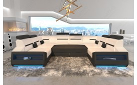 Canapé Design AVATAR CORNER U FORM avec éclairage LED & port USB NATIVO™ Möbel Schweiz