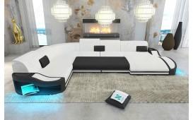 Canapé Design DIABLO XXL avec éclairage LED & port USB NATIVO™ Möbel Schweiz