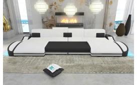 Divano di design DIABLO XXL DUO con illuminazione a LED e presa USB NATIVO™ Möbel Schweiz