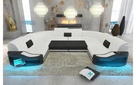 Divano di design DIABLO CORNER U FORM con illuminazione a LED e presa USB NATIVO™ Möbel Schweiz