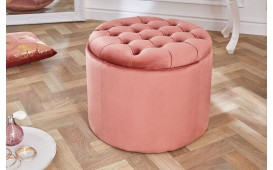 Tabouret Design ROCCO BIG PINK 50 cm