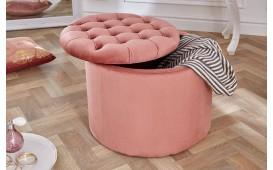 Designer Sitzhocker ROCCO BIG PINK 50 cm NATIVO™ Möbel Schweiz