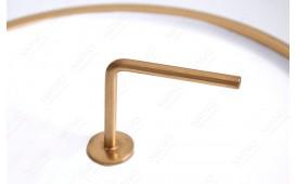 Tavolino d'appoggio di design SIMPLY BRIGHT WHITE-GOLD 36 cm