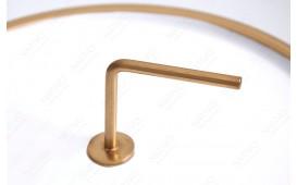 Designer Beistelltisch SIMPLY BRIGHT WHITE-GOLD 42 cm NATIVO™ Möbel Schweiz
