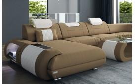 Designer Sofa VERSUS XXL mit LED Beleuchtung & USB Anschluss NATIVO™ Möbel Schweiz