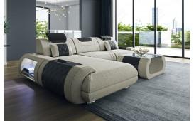 Designer Sofa VERSUS MINI mit LED Beleuchtung & USB Anschluss
