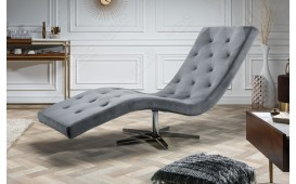 Designer Relaxsessel LORD RELAX SILVER