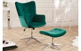 Tabouret Design STUFFY GREEN