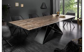 Table Design CRONOS ROST 180-260 cm