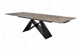 Designer Esstisch CRONOS ROST 180-260 cm NATIVO™ Möbel Schweiz