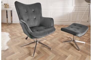 Designer Bürostuhl STUFFY LUX GREY NATIVO™ Möbel Schweiz