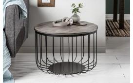 Tavolino di design GARRET GREY 56 cm