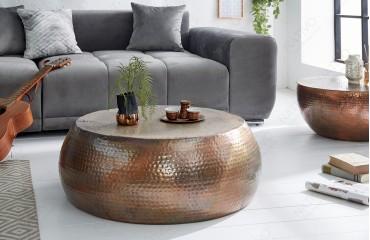 Tavolino di design ORIENTAL COPPER 80 cm