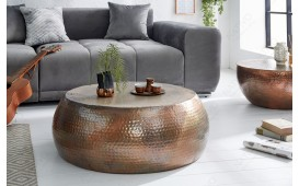 Table basse Design ORIENTAL COPPER 80 cm