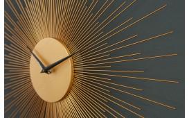 Designer Wanduhr SUN GOLD 70 cm NATIVO™ Möbel Schweiz