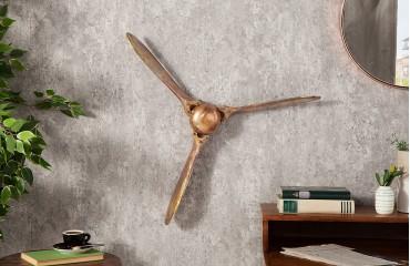 Designer Schädel HELIX GOLD 60 cm NATIVO™ Möbel Schweiz