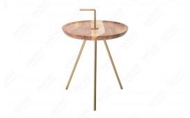 Tavolino d'appoggio di design SIMPLY GOLD 36 cm