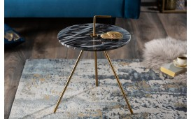 Designer Beistelltisch SIMPLY GREY 36 cm