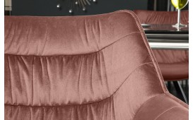 Chaise Design WADE ROSE