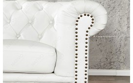 Divano CHESTERFIELD WHITE 3 posti NATIVO™ Möbel Schweiz