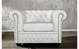 Fauteuil CHESTERFIELD WHITE