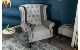 Fauteuil Relax CHESTER SILVER GREY