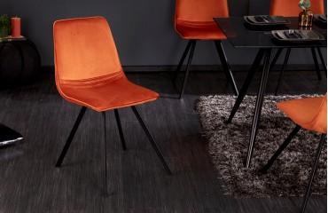 Chaise Design DELFT  ORANGE NATIVO™ Möbel Schweiz