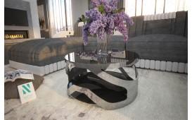 Tavolino di design VADER ( chrome )