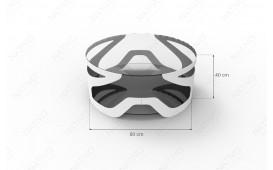 Designer Couchtisch VADER von NATIVO™ Designer Möbel Schweiz