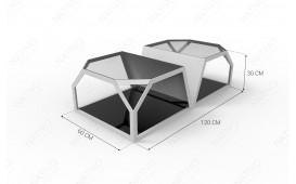 Tavolino di design  FLASH DUO